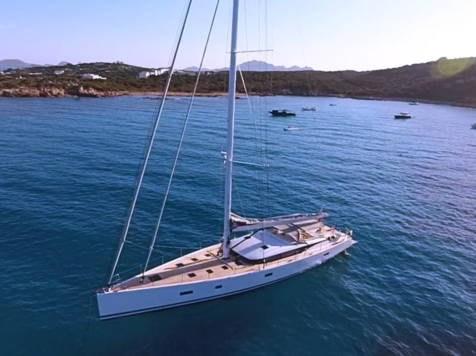 Pocket Superyacht - Sailing Yacht Aenea CNB76