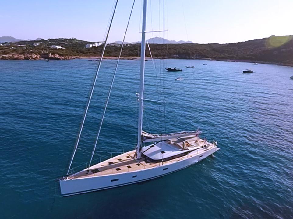 Pocket Superyacht - Sailing Yacht Aenea CNB76