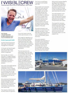 Article in The Islander Magazine August 2016