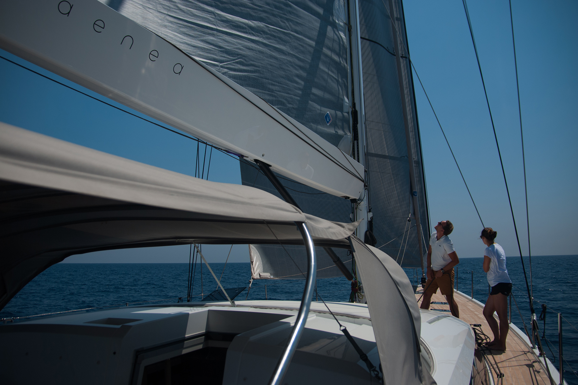 Sailing Yacht Aenea CNB 76