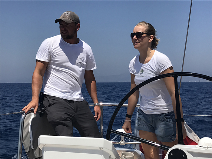 invisible crew sailing yacht