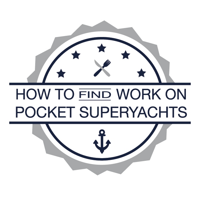 How to work on pocket superyachts logo by invisible crew